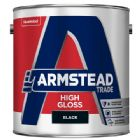 Armstead Trade High Gloss Black 2.5 Litres